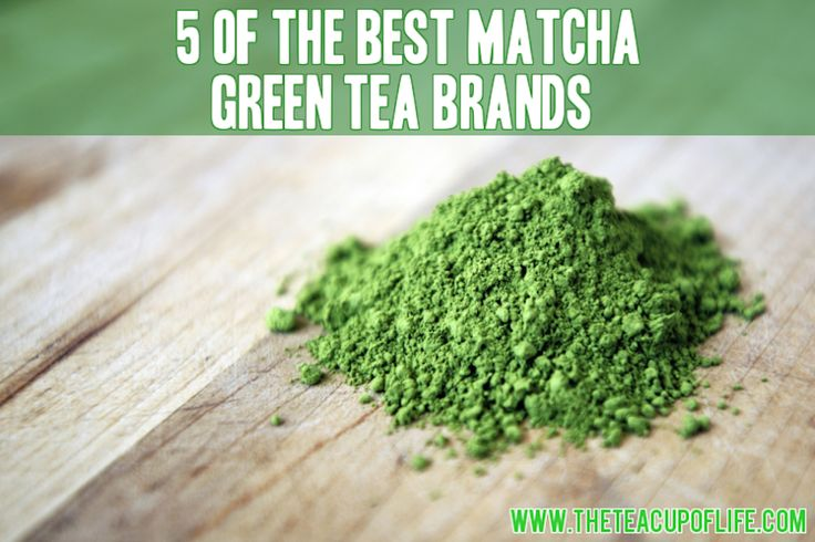 5 of the Best Matcha Green Tea Brands Out There - from Lu Ann Pannunzio