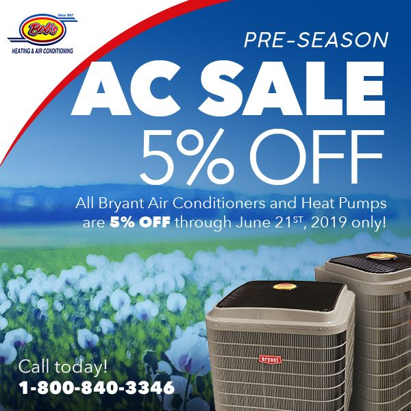 5 Off Air Conditioners Bob S Heating Air Conditioning Air