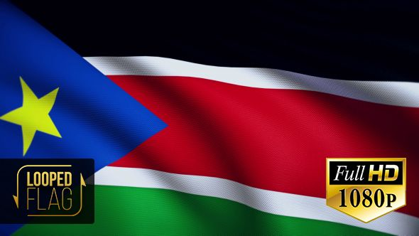 South Sudan Flag by bourjart National Flag of South Sudan Realistic looping animation with Highly Detailed fabricQuicktime MOV1920x1080Photo JPEG29.9710 secondsIf you like this item please rate. Thank you for purchasing!