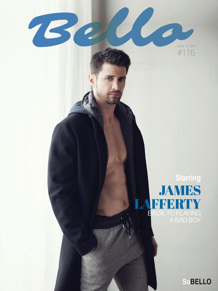 » JAMES LAFFERTY – Back To Playing A Bad Boy