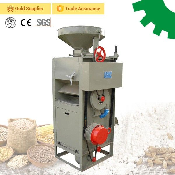 Making grinding milling rice flour at home/Factory Price mini rice flour mill machinery for sale