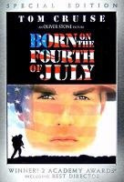 Born on the Fourth of July / Universal Pictures. A young man joins the army and fights in Vietnam, only to become a wheelchair-bound paraplegic resulting from battle. He then becomes a loud voice in the anti-war movement. DVD/B. 2004. Based on the novel by Ron Kovic.