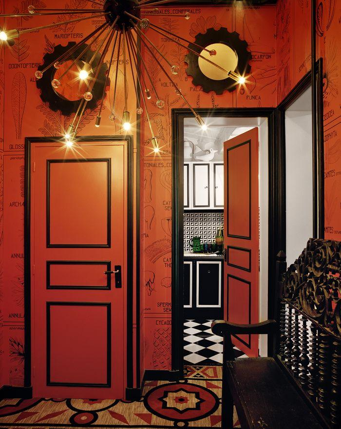 L'appartement surréaliste de Vincent Darré  © François Halard