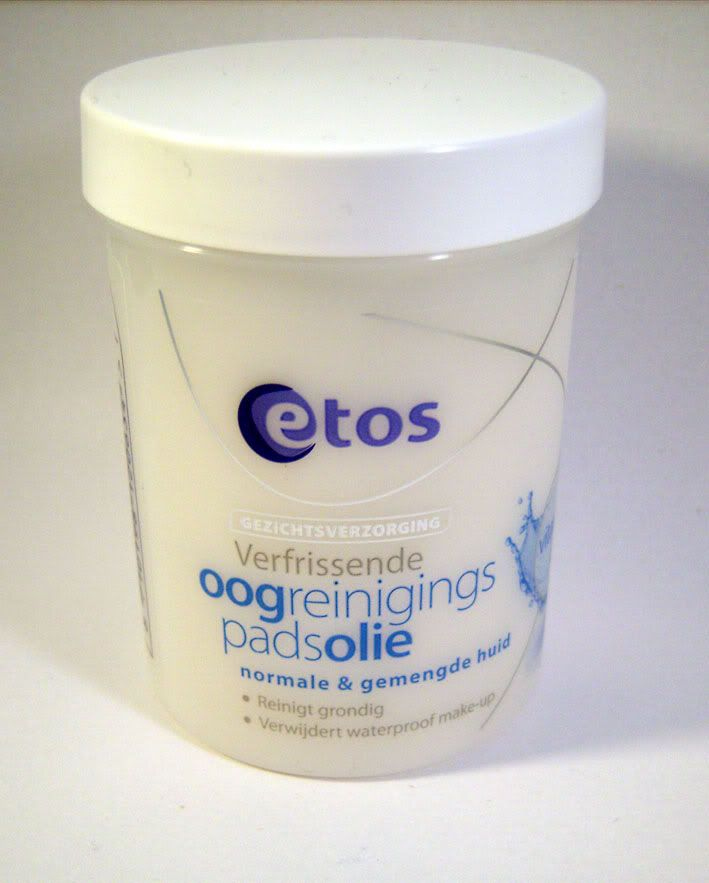 Review: Etos Verfrissende Oogreinigingspads Olie