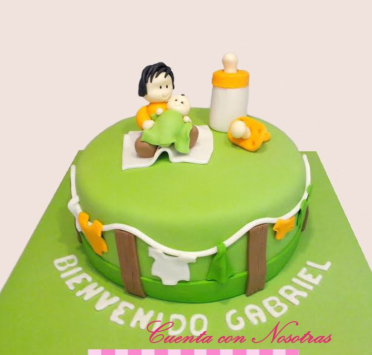Torta Baby Shower Torta hermantitos Baby Shower Cake