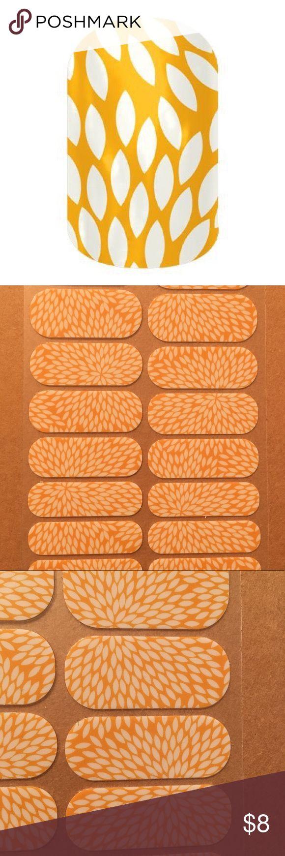 Sunny Lotus Jamberry Nail Wraps Full Sheet of Sunny Lotus Jamberry Nail Wraps. Jamberry Other