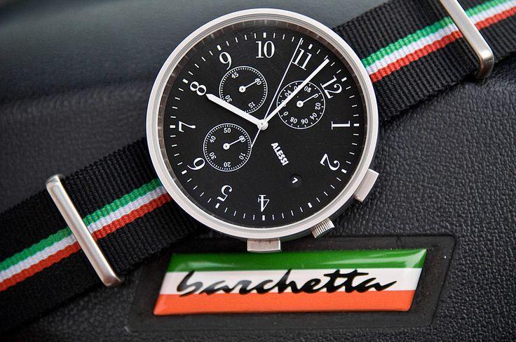 Alessi Chrono in Fiat Barchetta