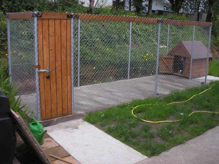 72 best kennel images on pinterest dog kennels doggies for Cedar shavings for dog kennels