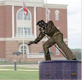New Elvis statue planned for Tupelo: The Tupelo Elvis Fan Club is pleased to partner with the Tupelo Convention & Visitors Bureau (CVB) to help bring the dream of honoring Elvis with a life-size statue to fruition.
