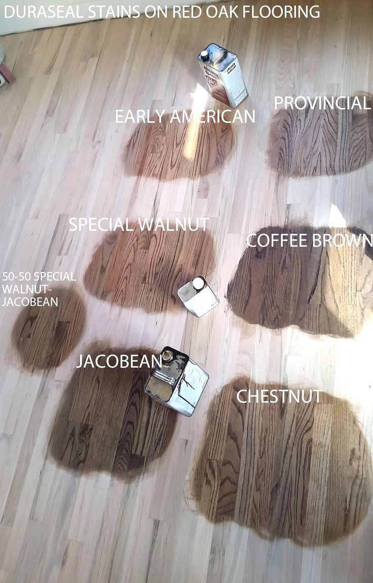 Duraseal Stain On Red Oak Wood Flooring Chestnut Jacobean Coffee Brown Spe Wood Floor Colors Red Oak Wood Floors Hardwood Floor Colors