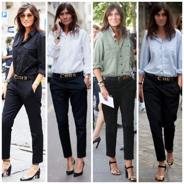 Obsessed with her. Perfect work outfits. Relaxed but sophisticated