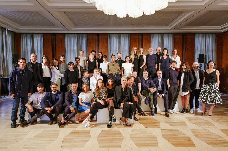 NOBI TALAI & VLADIMIR KARALEEV were part of 'der Berliner Modesalon 2015' at Kronprinzenpalais during Mercedes Benz Fashion Week in Berlin