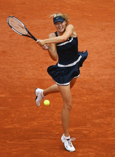 Maria Sharapova Dress, French Open 2008 -- one of my favouritre looks. #TennisCouture