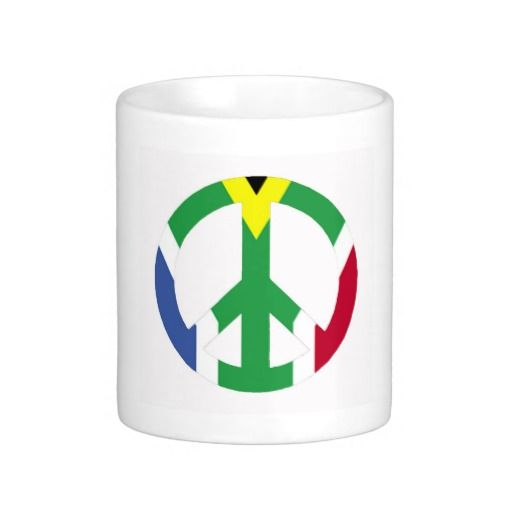 South African peace sign
