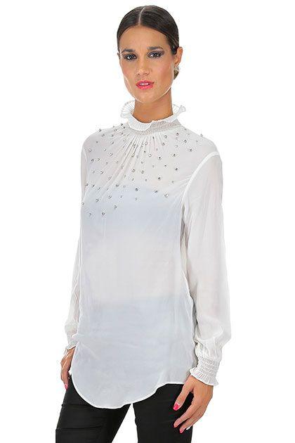 TWIN-SET SIMONA BARBIERI - Camicie - Abbigliamento - Camicia in viscosa con…