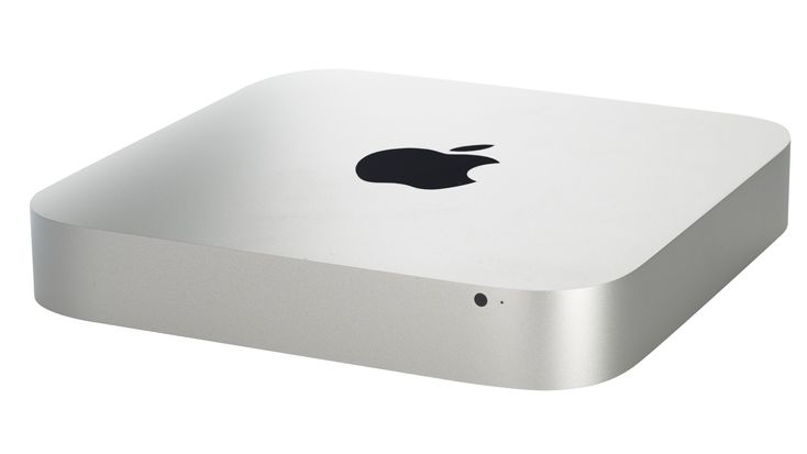 Apple Mac Mini computer used as a music network server to play back audio files