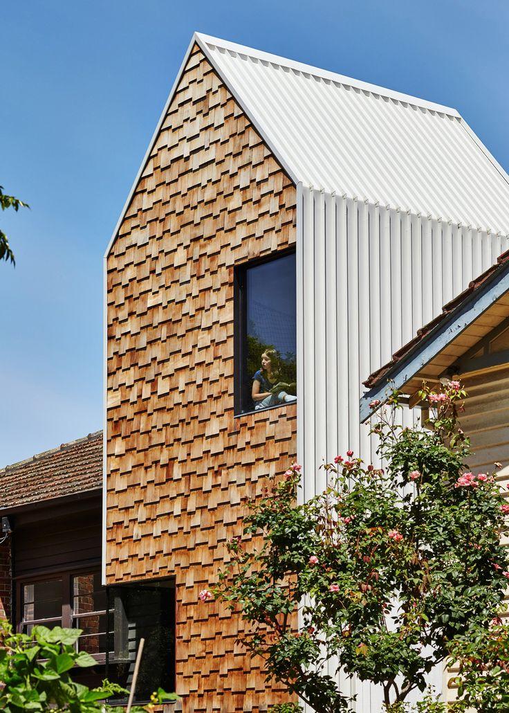 S+ P et leur filsjumeaux âgés dehuit ans se confient avec enthousiasmeau studio «Andrew Maynard Architects» pour la réalisationd'une maison dans le thème de dialog…