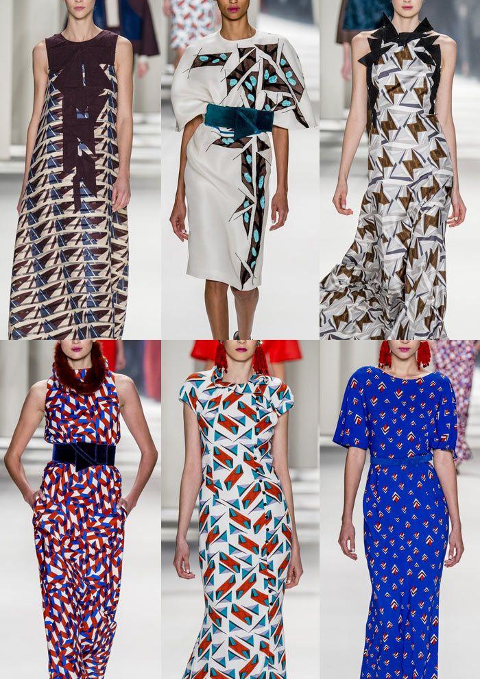 New York Fashion Week – Autumn/Winter 2014/2015 – Print ...