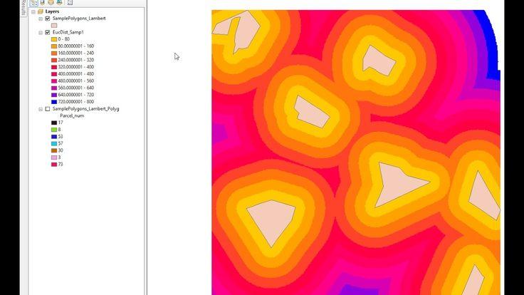 ArcGIS 10.2  Buffer raster layer using Euclidean Distance