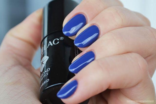 lakierowe wywiadówki: Semilac Paris - 018 Cobalt