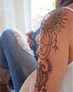 henna // tattoo inspiration // sunflower