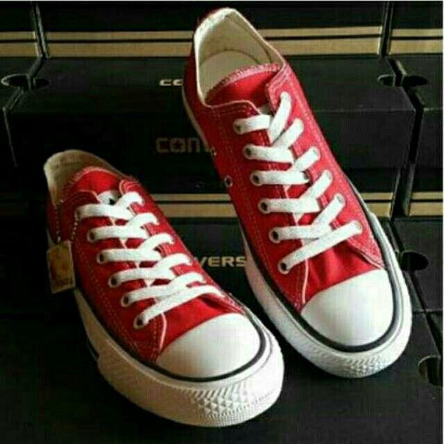 Saya menjual Converse Low Red seharga Rp155.000. Dapatkan produk ini hanya di Shopee! {{product_link}} #ShopeeID