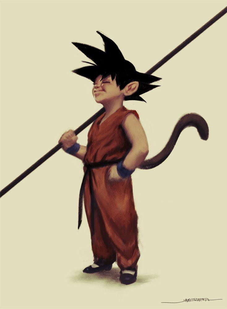 Son Goku by jameszapata.deviantart.com on @DeviantArt