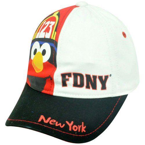 Sesame Street Elmo Character FDNY Firefighter Curve Bill Two Tone Velcro Hat Cap  http://www.beststreetstyle.com/sesame-street-elmo-character-fdny-firefighter-curve-bill-two-tone-velcro-hat-cap/