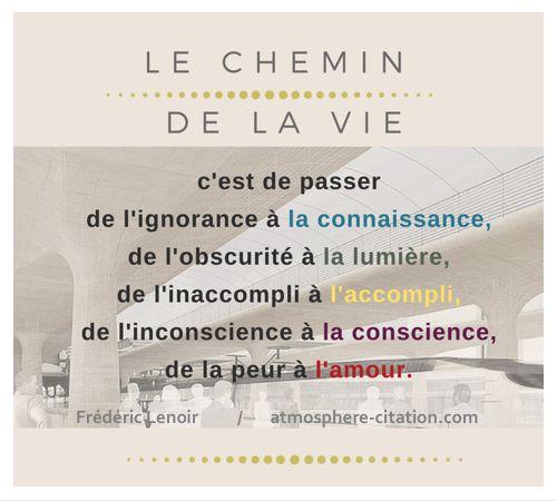 Le chemin de la vie,  Trouvez encore plus de citations et de dictons sur: http://www.atmosphere-citation.com/travail/le-chemin-de-la-vie.html?