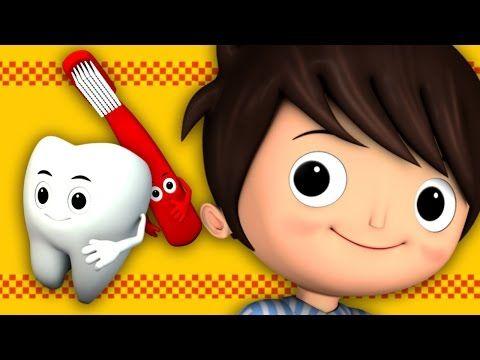 This Is The Way We Brush Our Teeth | Nursery Rhymes | HD Version from LittleBabyBum - YouTube