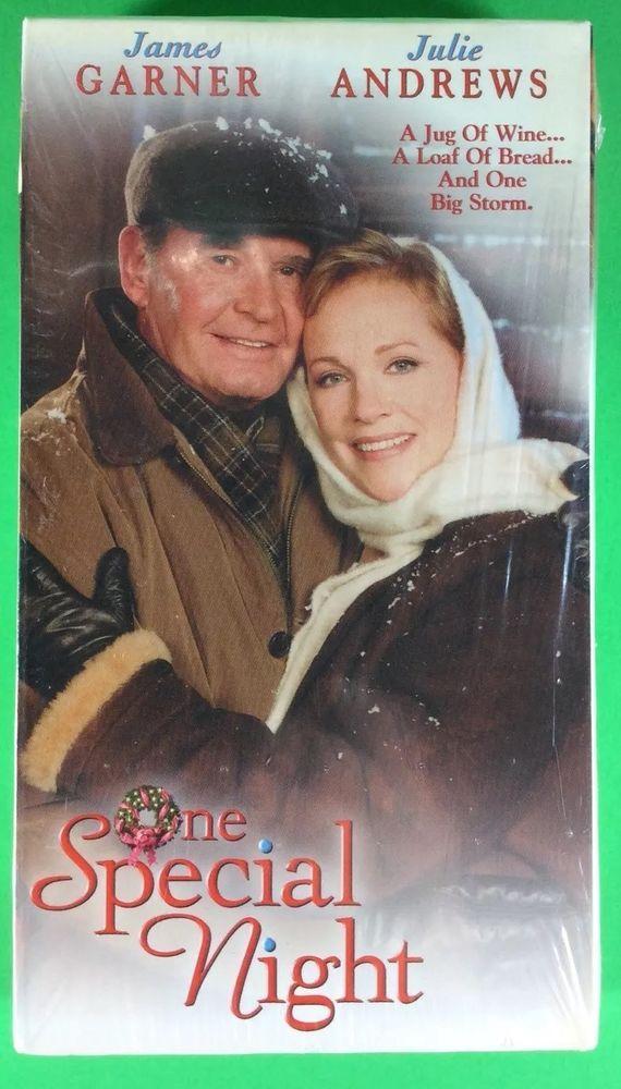 One Special Night James Garner Julie Andrews VHS Christmas Movie NEW ...