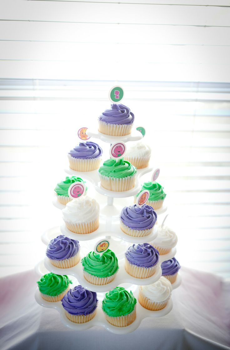 Images For Barney Cake