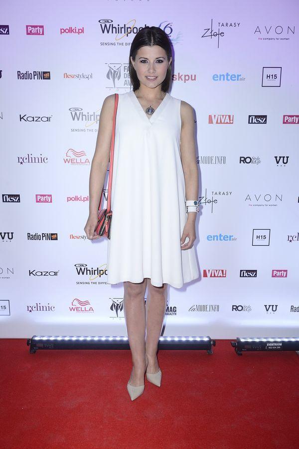 Agnieszka Sienkiewicz w naszej biżuterii Gala finałowa Fashion Designer Awards 2014