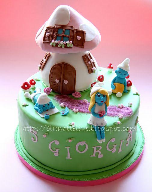 Torte di compleanno per bambine: cake design con principesse, animaletti del bosco, personaggi dei cartoni e delle fiabe!