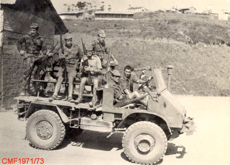 Portuguese Soldiers in Angola 1973 - Colonial War