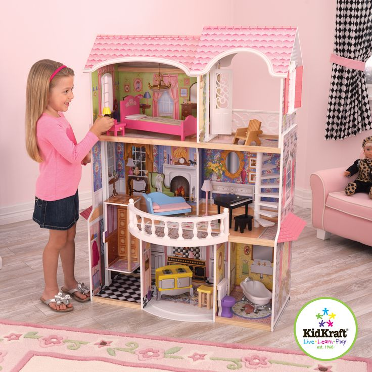 Another gorgeous #dollhouse from #Kidkraft just landed in the warehouse just in time for #Christmas Orders #Magnolia Mansion  great for #Barbie's & #Bratz Dolls http://www.romanticflairoriginal.com/shopexd.asp?id=1192