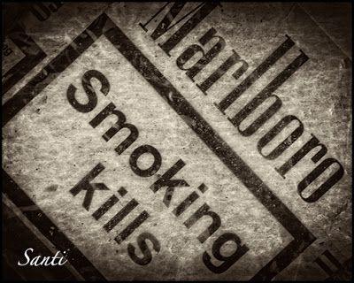 Santiago Zalamea Igogans: Día mundial sin tabaco - No smoking day