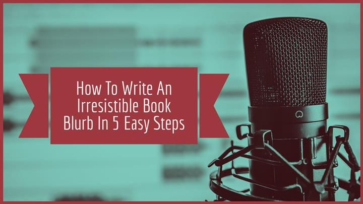 Book Blurb Writing