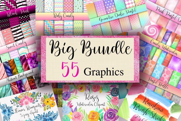 Download Big Bundle Graphics (Bundle) · Creative Fabrica | Font ...