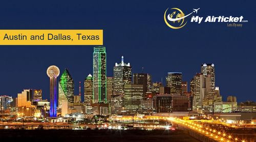 Travel destination of Austin and Dallas, Texas (USA) : To book cheapest international air ticket fare , Tuesday or Wednesday is the suggested day and also you should plan booking at least 3 months before the travel. This is the best time you will get the cheapest and best fare.Now Book Cheap Air Tickets Online For Domestic & International Airlines and Travel Luxury At Economical Price with & Enjoy Fantastic Lowest Airfares with 5 Star Airlines.MyAirticket.com Contact us (INDIA):- 0172-49