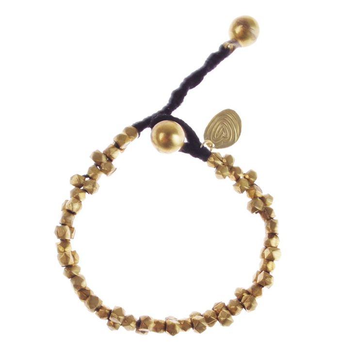A Beautiful Story sieraden | Studio Art Styles  | Armband | Avanti Golden bracelet | handcut beads in a beautiful setting