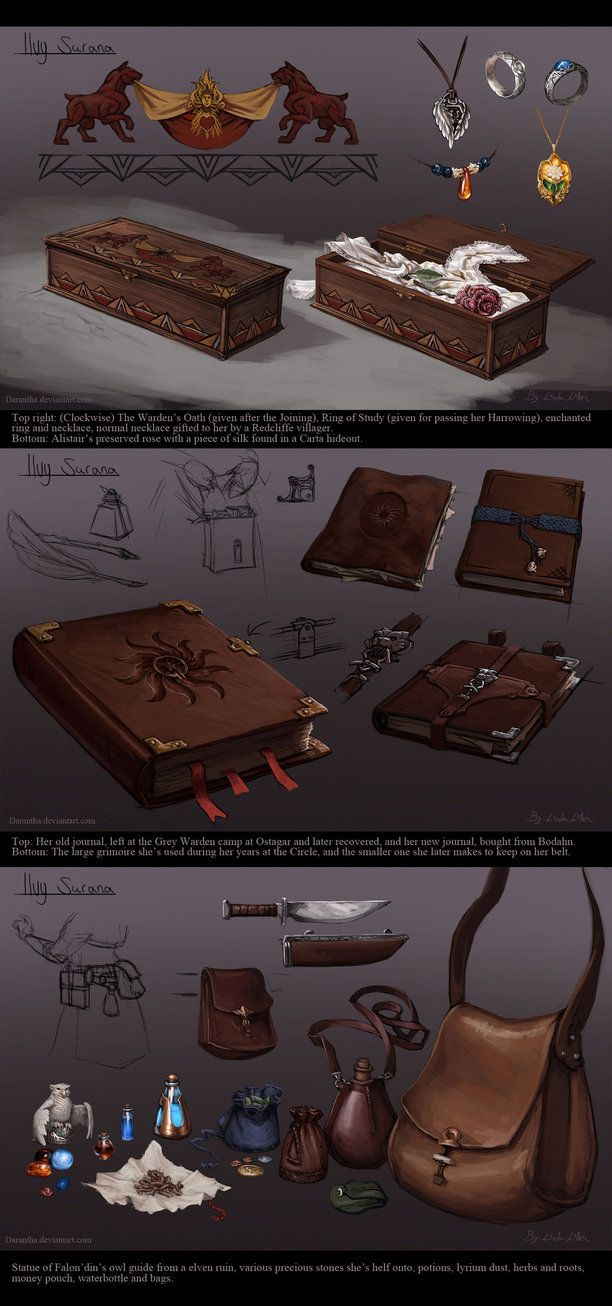 DA - Ilvy's Items by Darantha.deviantart.com on @DeviantArt
