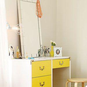 Budget-friendly home makeover ideas   Old desk (after)   Sunset.com