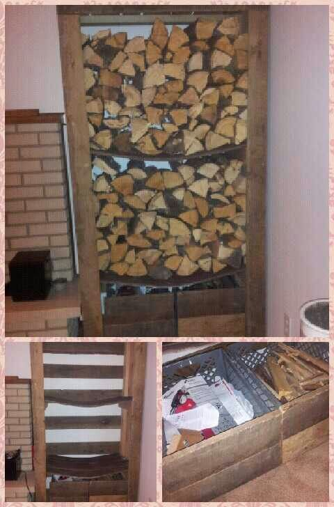 17 Best Ideas About Indoor Firewood Storage On Pinterest