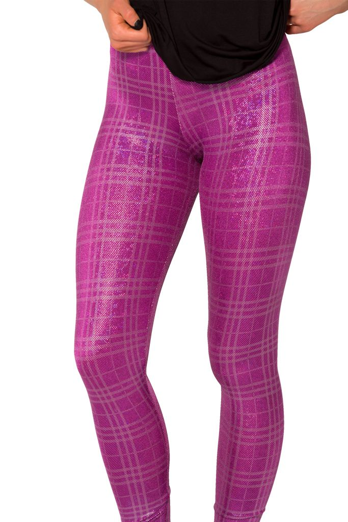 Disco Doll Tartan Leggings - LIMITED (WW $70AUD / US $65USD) by Black Milk Clothing