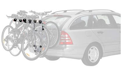 £98.99 - Thule 9708 HangOn 4-bike towball carrier