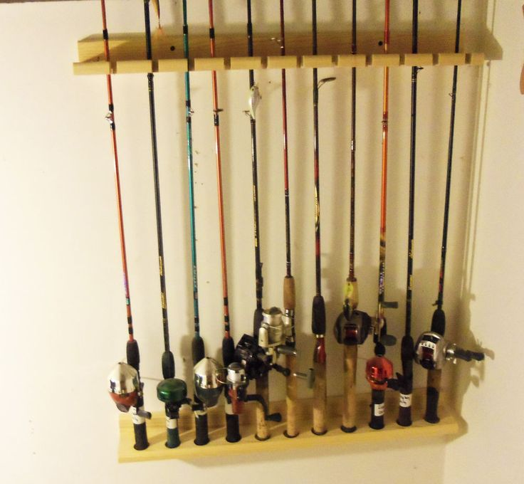 Vertical Fishing Rod Rack Plans Woodworking Projects Amp Plans