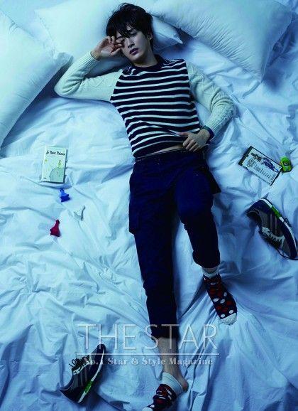 Block B Jaehyo - The Star Magazine January Issue '14