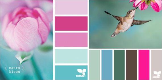 Холодный и теплый розовый цвет  Холодный розовый может входить в сочетания с оливковыми или травяными оттенками зеленого, создавая контраст по теплоте, но в целом такая композиция останется нейтральной или холодной.