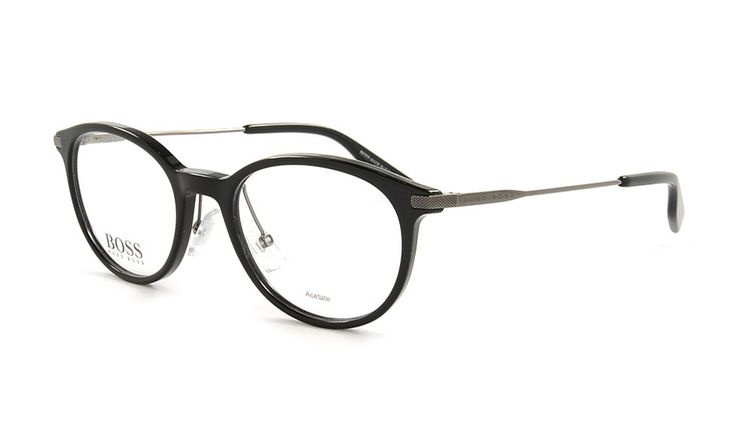 Hugo Boss 626 ANS Brille, Gr. 50, Schwarz.
